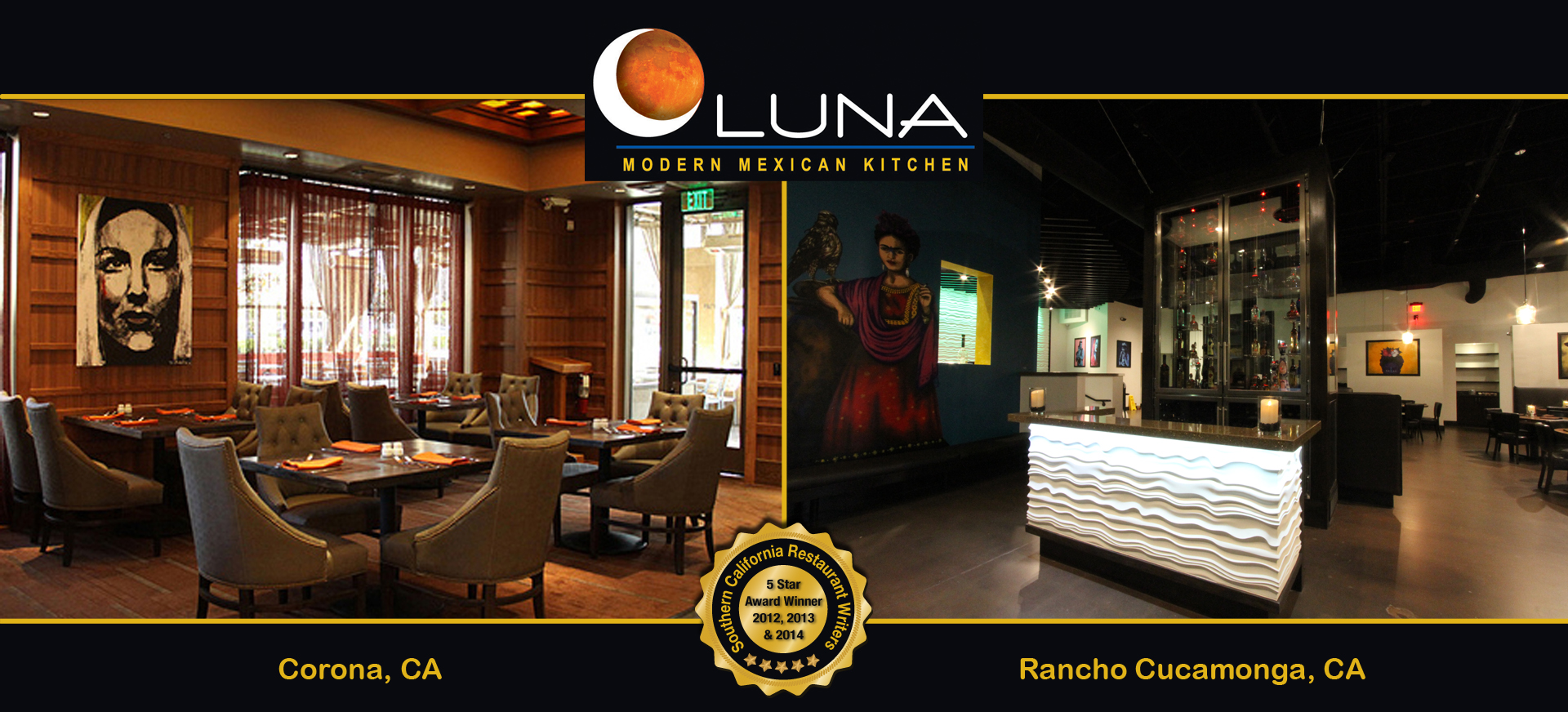 Luna modern mexican kitchen for Modern mexican kitchen design